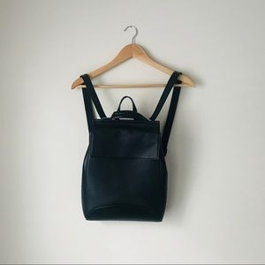 Handbags - Genuine leather black backpack